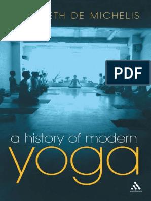 A History Of Modern Yoga De Michelis E Pdf Swami Vivekananda Yoga