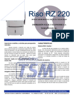 Brochure CR1610 RZ220