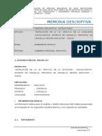 7. Memoria Descriptiva Iei 414-38 Chirilla Arquitecturaa