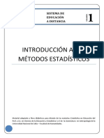 Introducción a Los Métodos Estadísticos 1parte