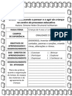 Ei03oe02). Planejamento Bncc Oralidade e Escrita