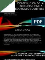 Contribución de La Ingeniería Civil Al Desarrollo Sostenible