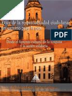 Ética de La Responsabilidad Ciudadana Un Camino Para La Paz