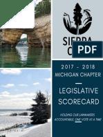 2017-2018 Legislative Scorecard