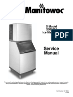 Manitowoc Ice Machine s0850m_sm