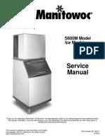 Manitowoc Ice Machine s0600m_sm