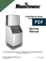 Manitowoc Ice Machine s1800m_sm