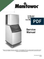 Manitowoc Ice Machine s1000m_sm