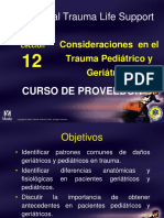 Trauma Pediatrico y Geriatrico