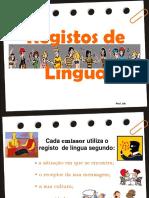 Registos Lingua