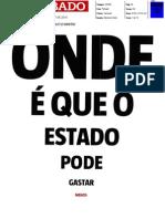 Os gastos do Estado português