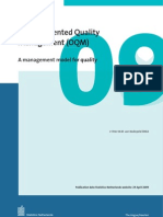 Object Oriented Quality Management
