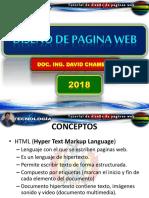 Presentacion Diseño Pagina Web Ing David Chambi