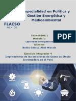 implicaciones de las emisiones de gases de efecto invernadero en el peru