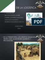 Historia de La Logistica