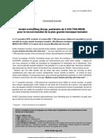 Communiqué C KOI TON REVE - ACIES Consulting Group