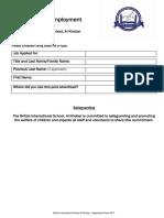 Application Form 2017
