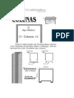 Projeto fabricação de portões