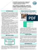 Projeto latinhas reciclaveis