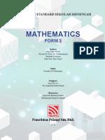 Maths Chapter 4 Form 3