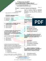 Examen BIOLOGIA 1er Periodo - 2018---6 a 11