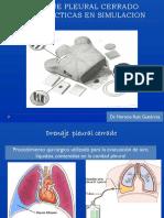 3. Drenaje Pleural Cerrado-simulacion