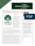 Igreja Presbiteriana de Picuí_ Por Que Somos Presbiterianos