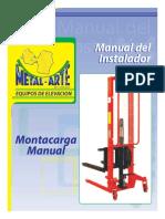 Montacarga Manual