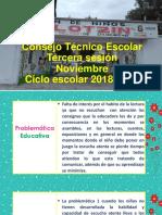 Consejo Tecnico 2018 Presentación Entre Pares Yolo