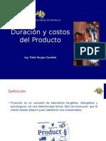 Duración-y-Costos-del-Producto