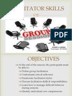 Facilitation Skills 2013