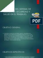 Objetivos Del Sistema de Gestión de Seguridad y