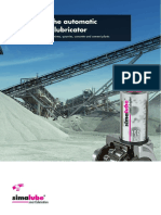 SIMALUBE - Quarries-Mines-Concrete-Cement Plants - Flyer (ENG)
