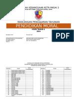 RPT Pendidikan Moral 4 2019 Sp