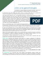 1. Introducción a La Gerontología