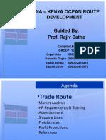 International Trade Logistic India Kenya