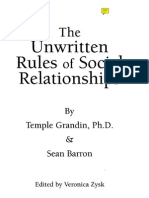 Unwritten Rules of Social Relationships (Temple Grandin - Sean Barron) Autism Asperger Social Skills Ocr - Editable