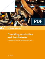 effect of gambling