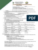 Chapter Test_sampling Distribution