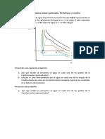 Termodinámica Primer Principio Problemas