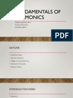 Group 2 - Fundamentals of Harmonics