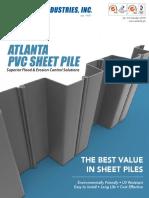 New Atlanta PVC Sheet Pile