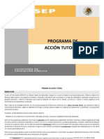 Programa Accion Tutorial V