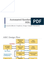 VHDL 6 Synthesis With VHDL Leonardo