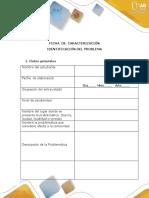Ficha de Caracterización