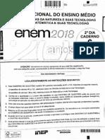 Caderno Cinza Enem 2018 Dia 2