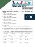 Soal Matematika Kelas 6 SD Bab 1 Bilangan Bulat Dan Kunci Jawaban (Www.bimbelbrilian.com)