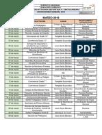 Cronograma General Marzo Lsb 2019