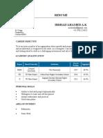 Irshad Resume