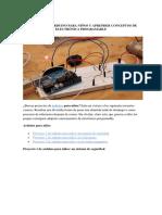 Proyectos de Arduino Para Niños y Aprender Conceptos de Electrónica Programable